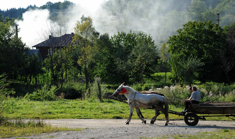 Rumunia okręg Maramuresz wsie