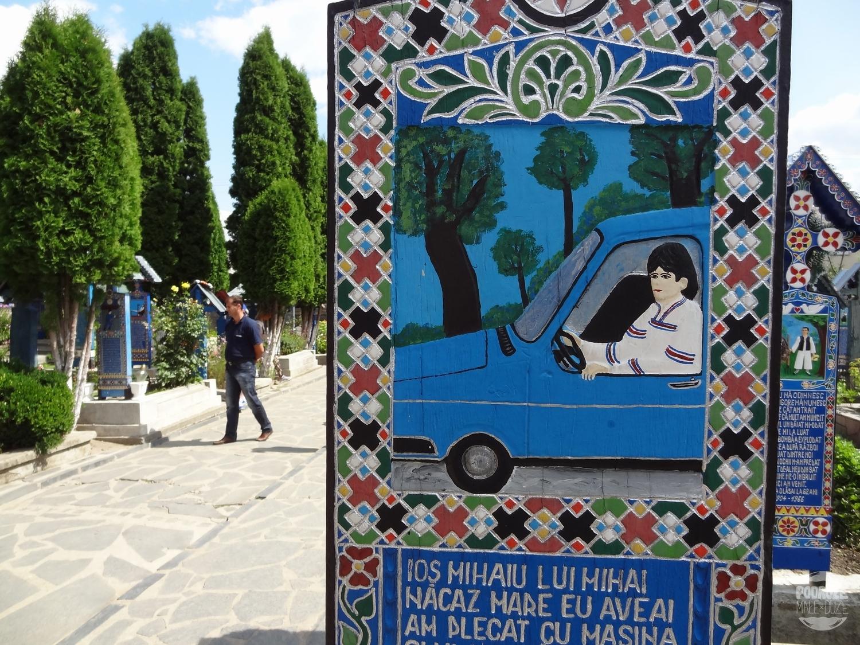Rumunia okręg Maramuresz Sapanta Wesoły Cmentarz