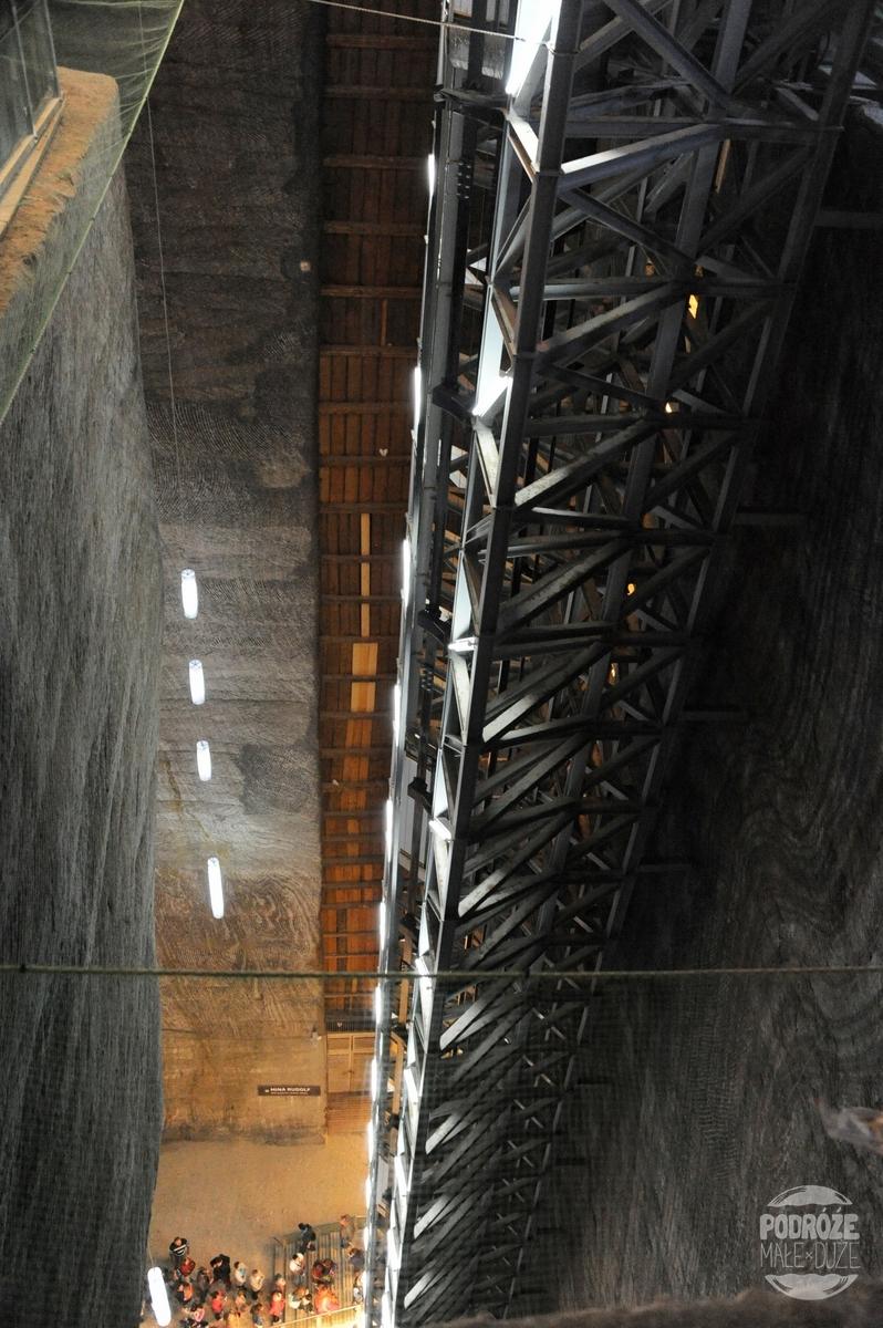 Rumunia kopalnia soli Salina Turda