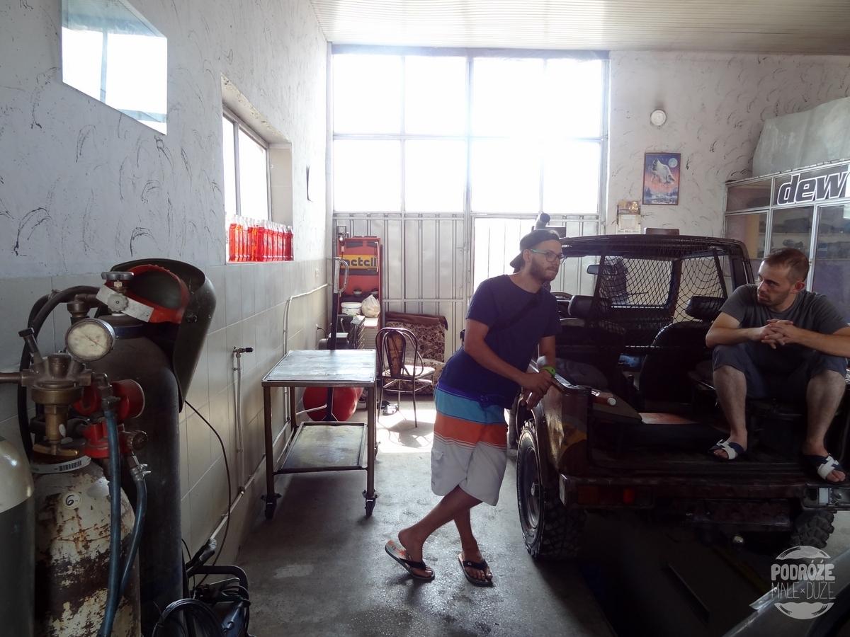 Macedonia naprawa samochodu