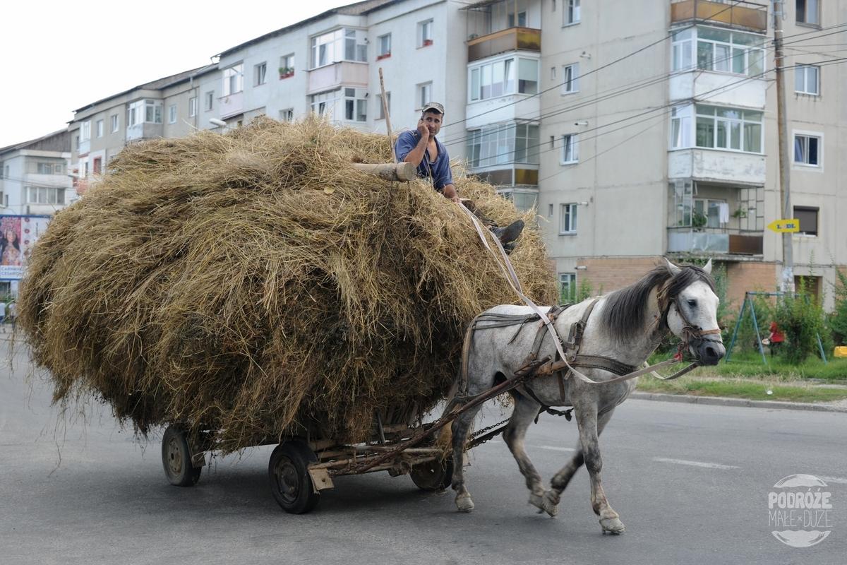 Rumunia samochodem wsie