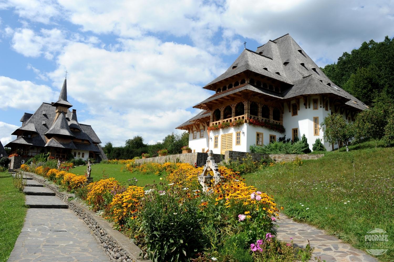 Rumunia okręg Maramuresz Bârsana Klasztor Barsana