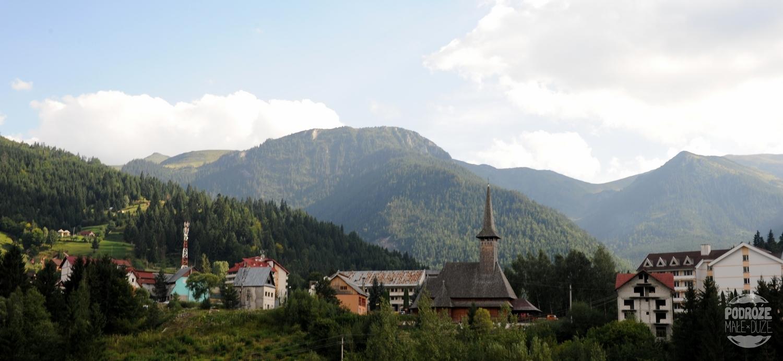 rumunia Droga przez Przełęcz Prislop