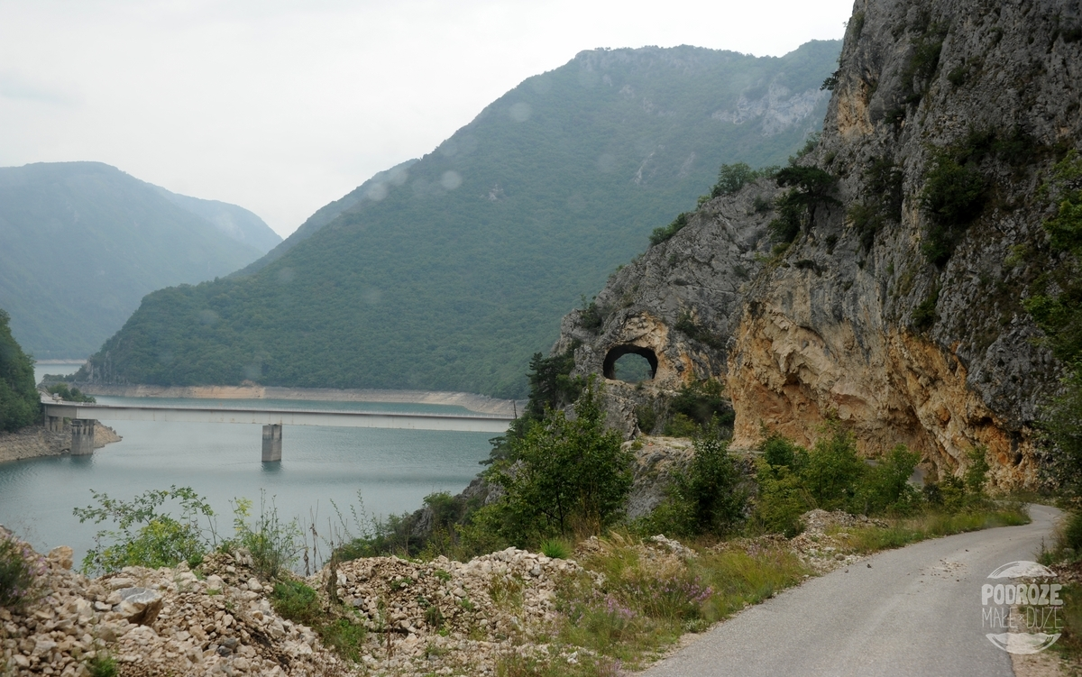 czarnogóra Jezioro Pivsko