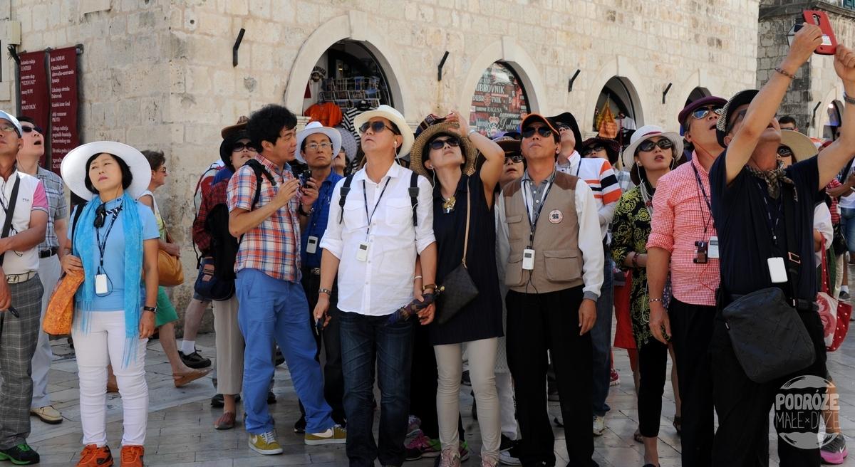 chorwacja dubrownik turyści