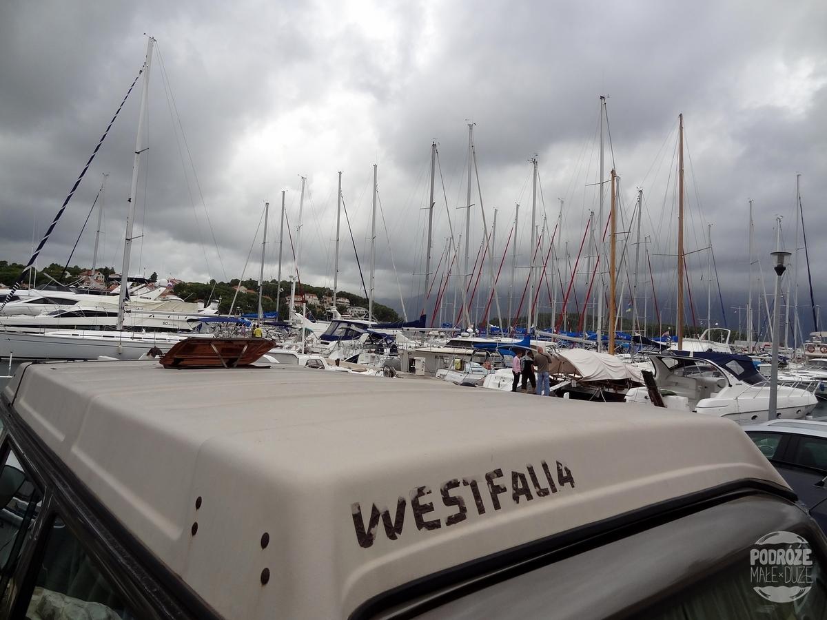 Korčula Lumbarda port