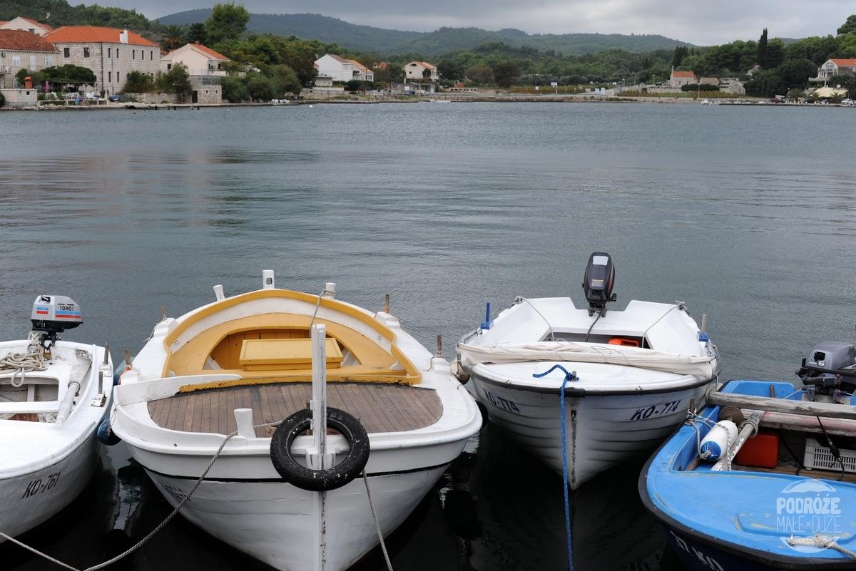 Chorwacja Korčula Lumbarda port