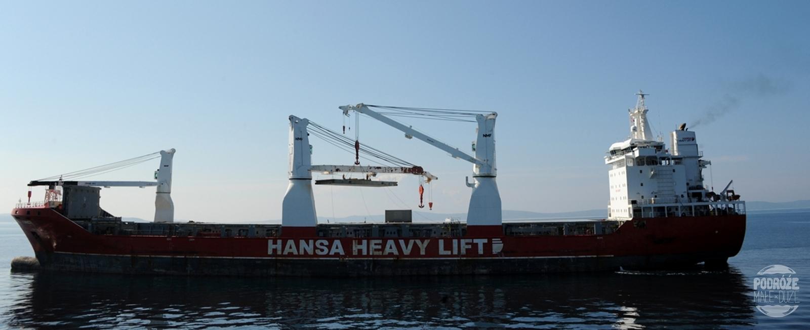 Chorwacja Split statek