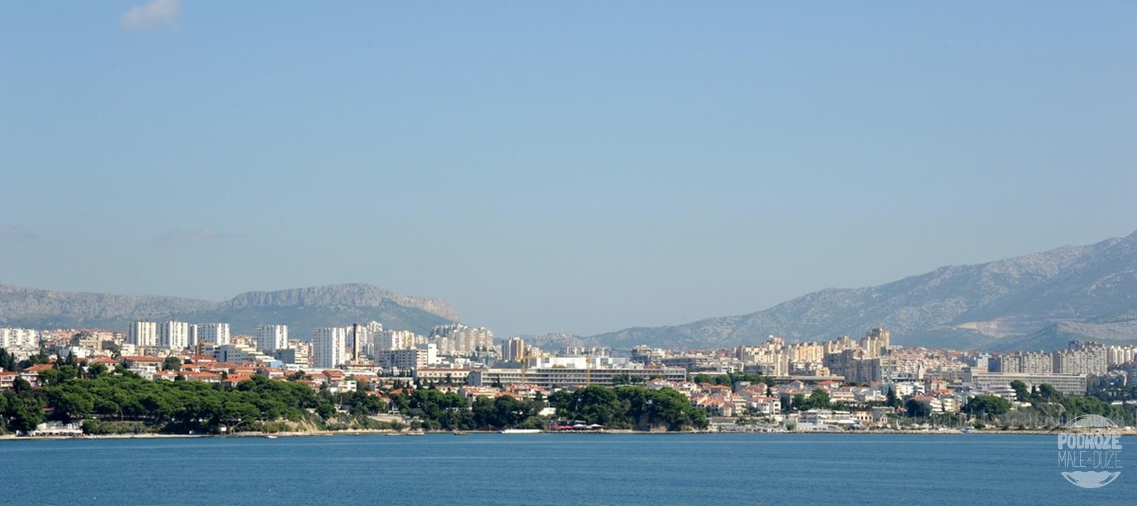 Chorwacja Split panorama