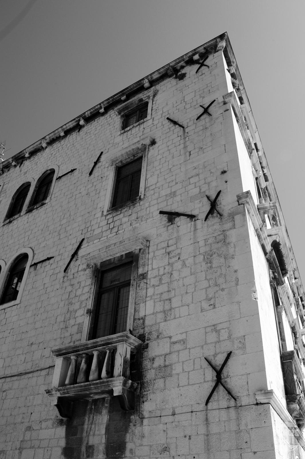 Chorwacja Split kamieniczki