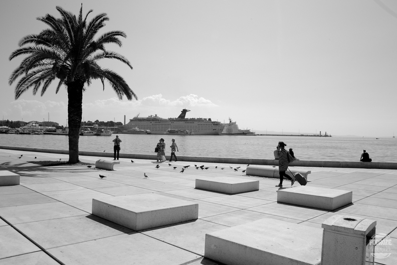 Chorwacja Split promenada