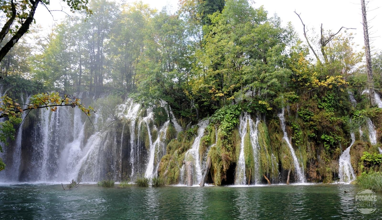 Chorwacja Jeziora Plitwickie Park Narodowy wodospady
