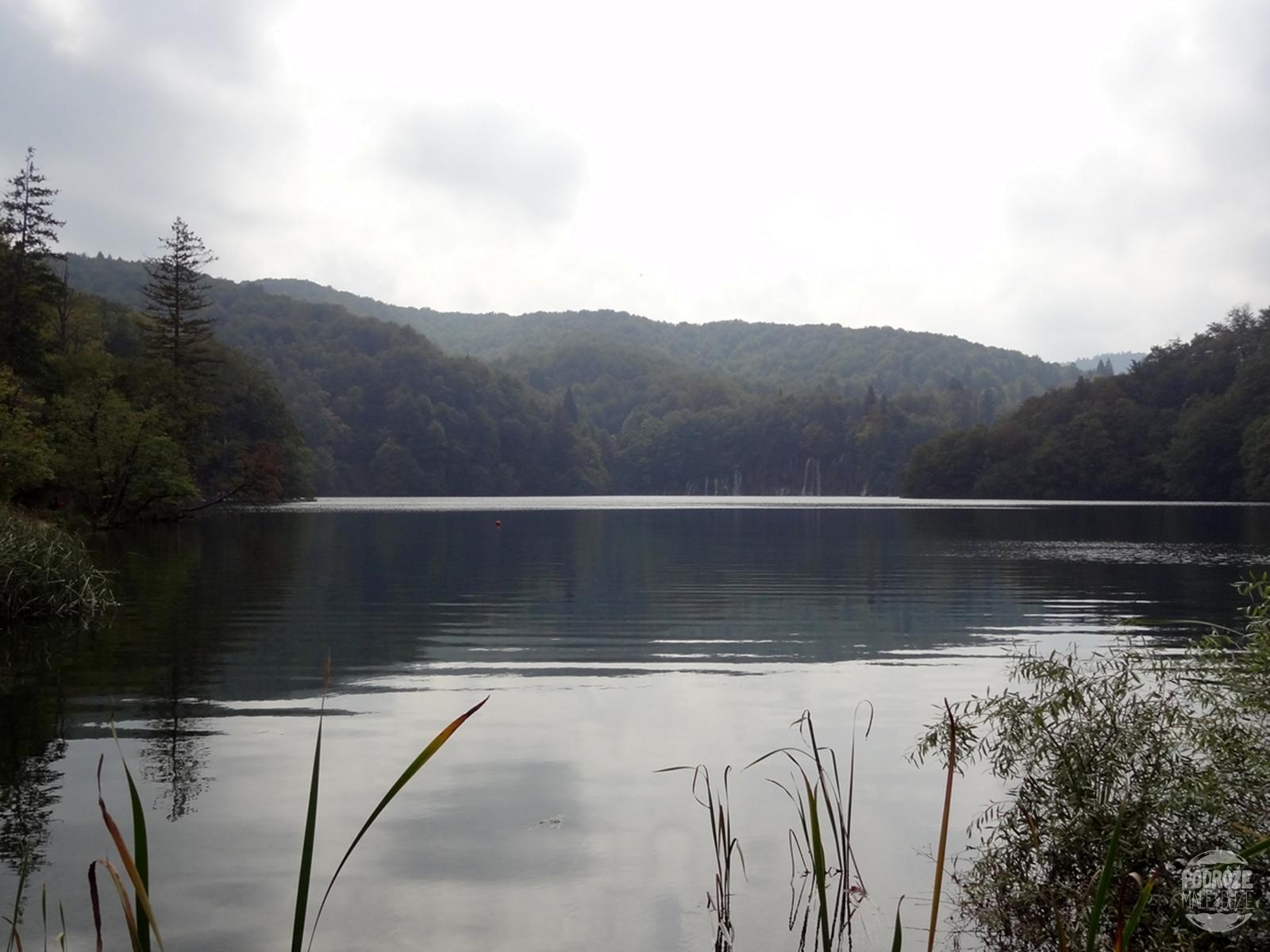 Chorwacja Jeziora Plitwickie Park Narodowy jezioro