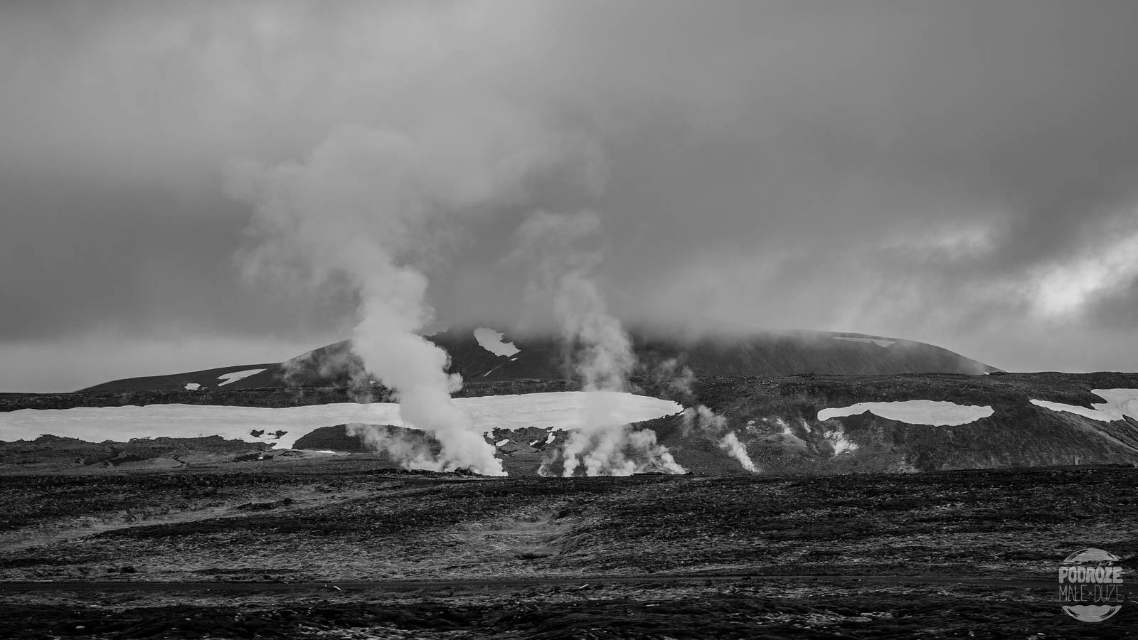 pola geotermalne na Islandii