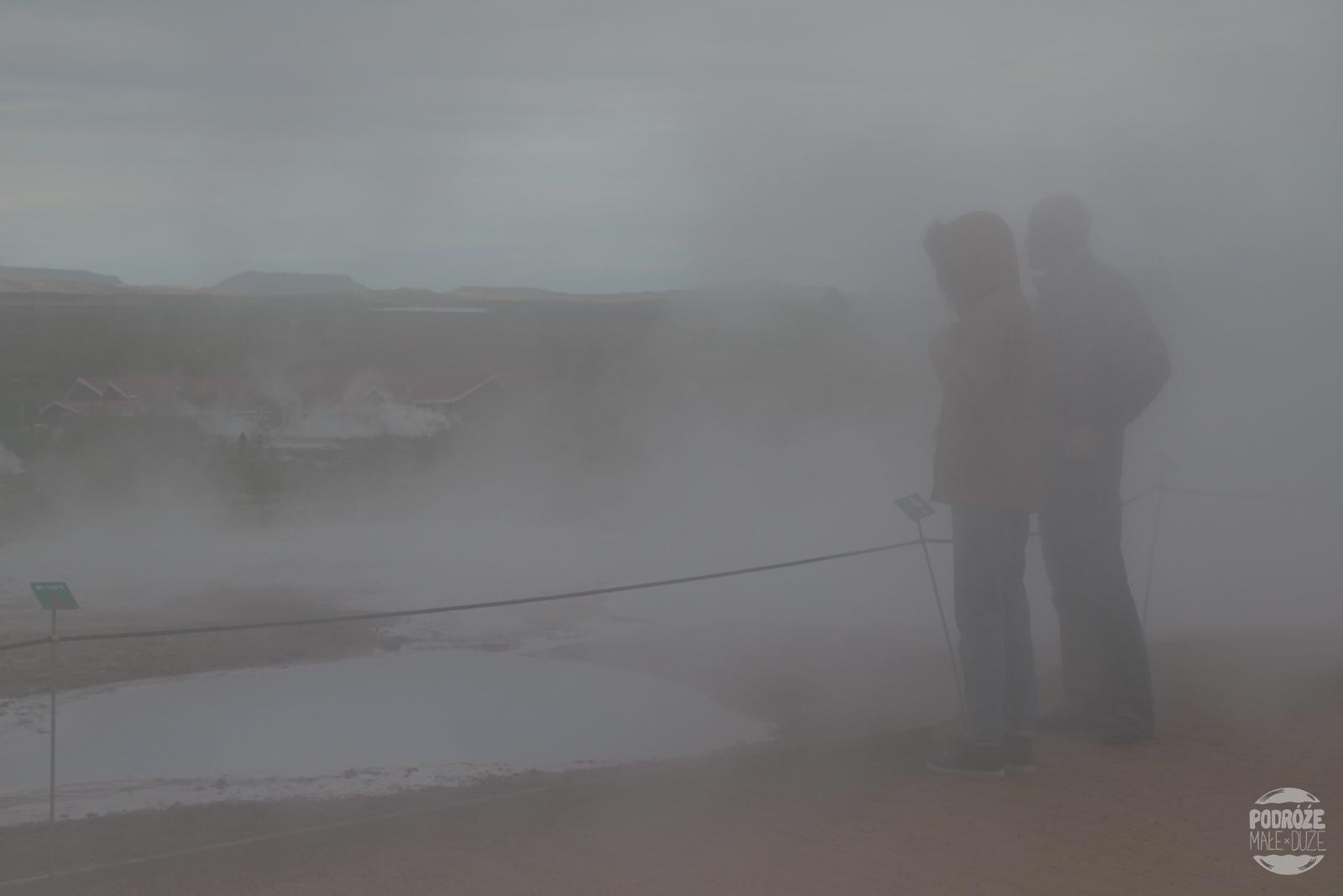 Geysir gejzer Islandia