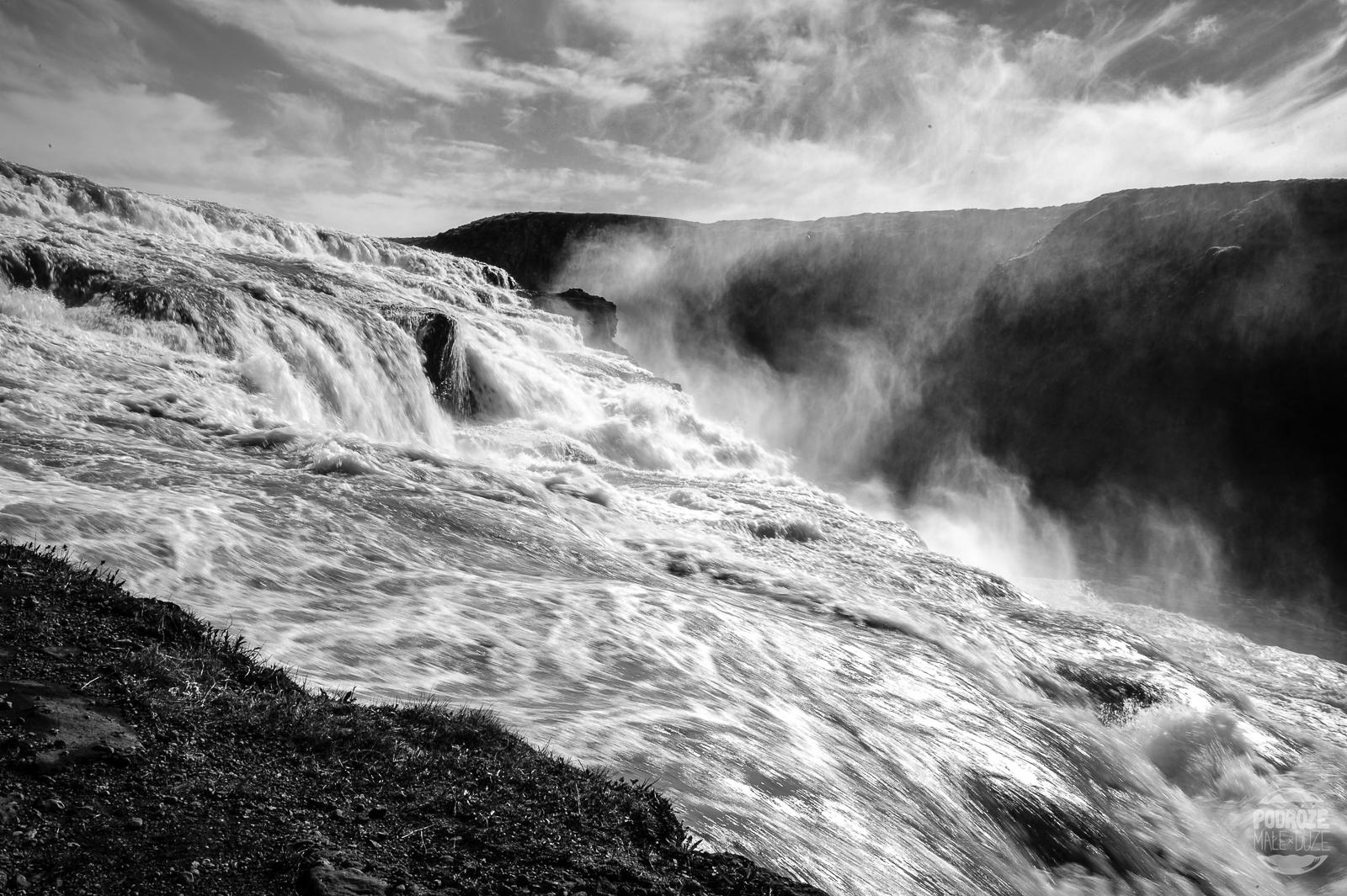 wodospad Gullfoss Islandia