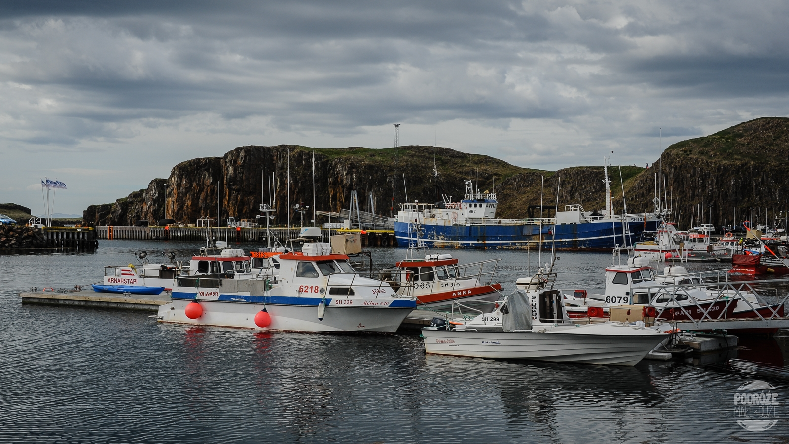 port Stykkisholmur Islandia
