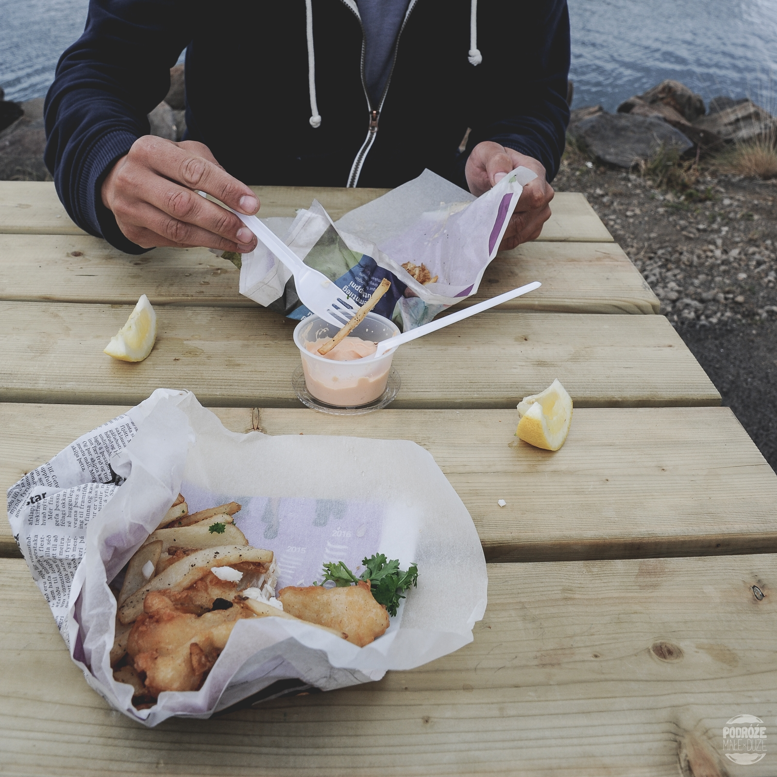 fish & chips Islandia