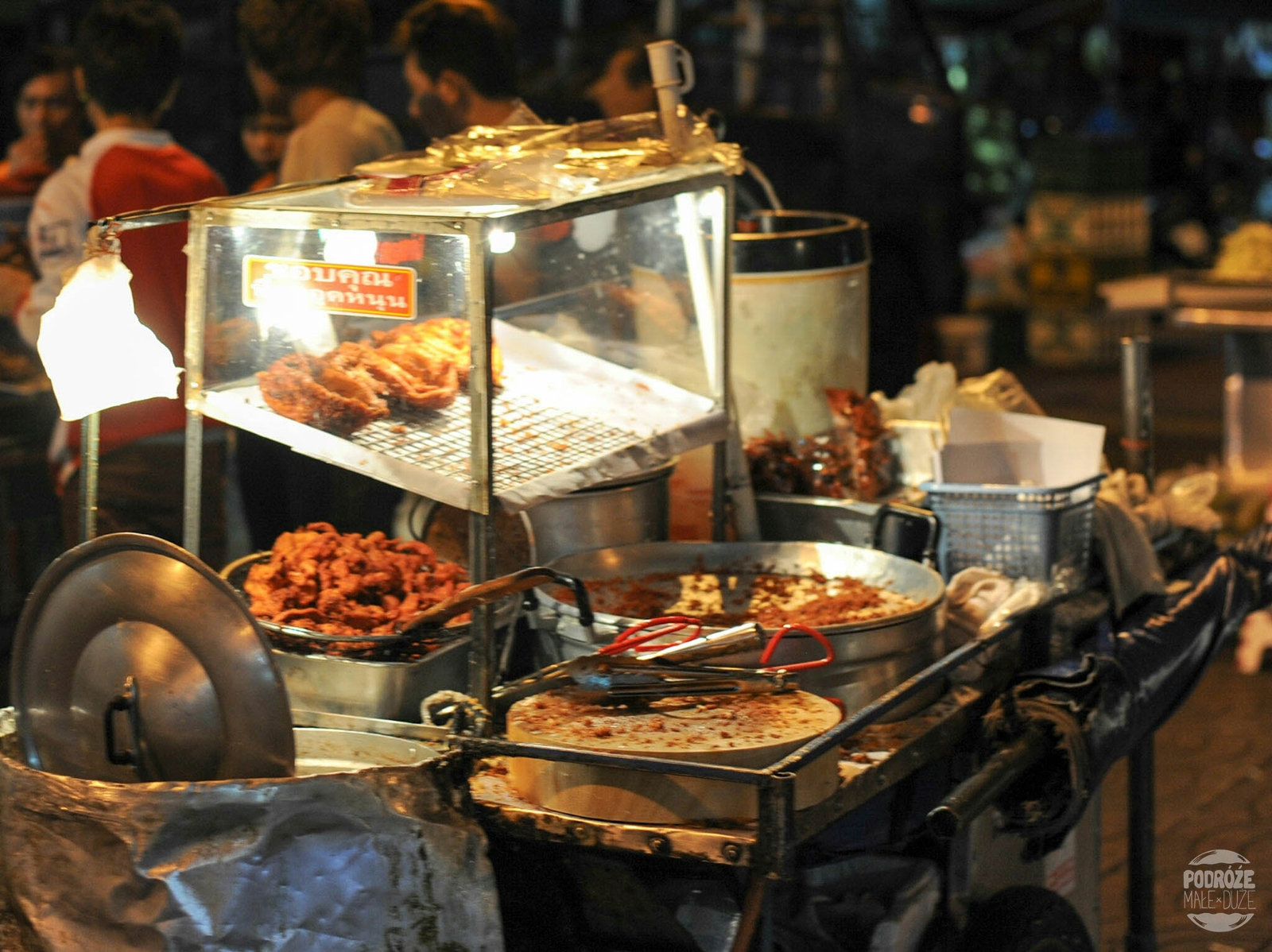 Street Food w China Town. Bangkok