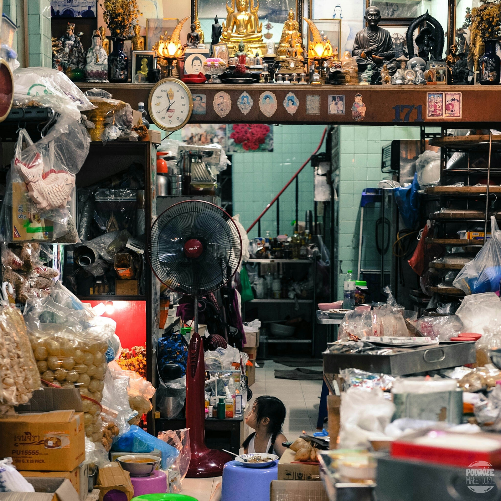 Bangkok. Dzielnia China Town