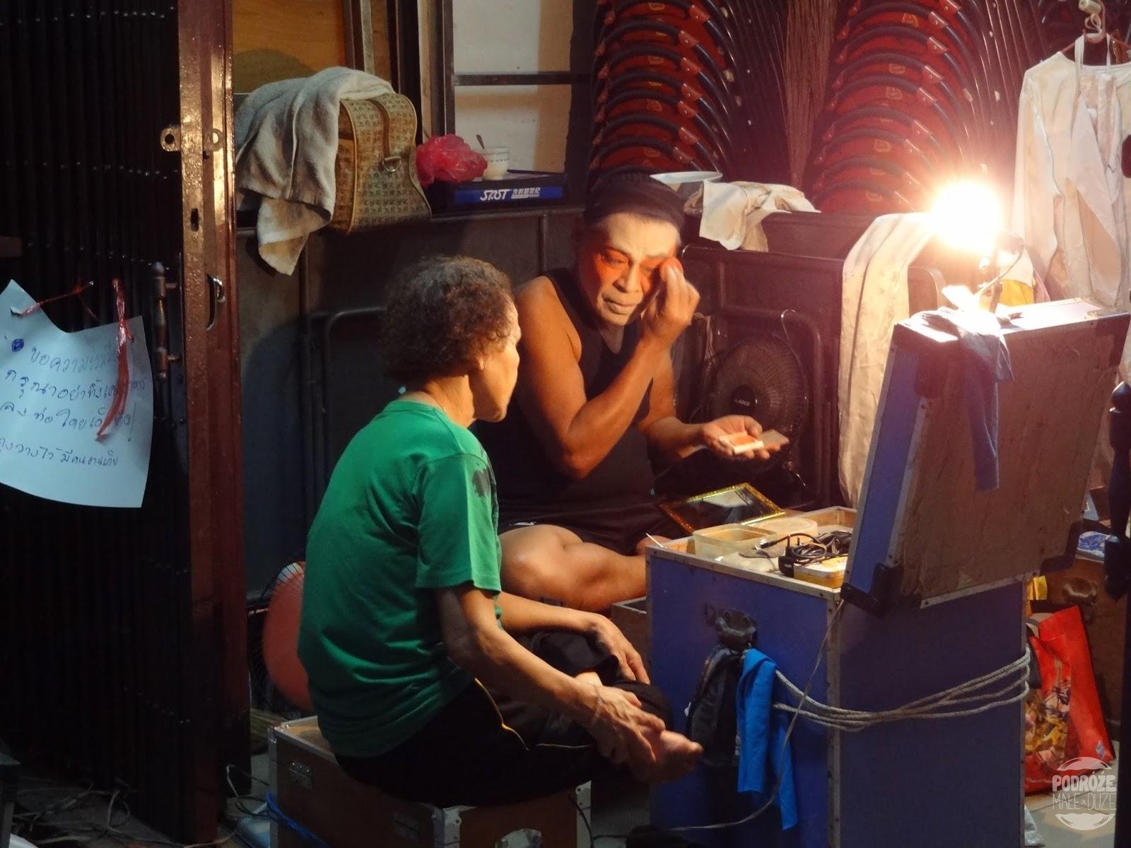 Zaułki Bangkoku w dzielnicy China Town.