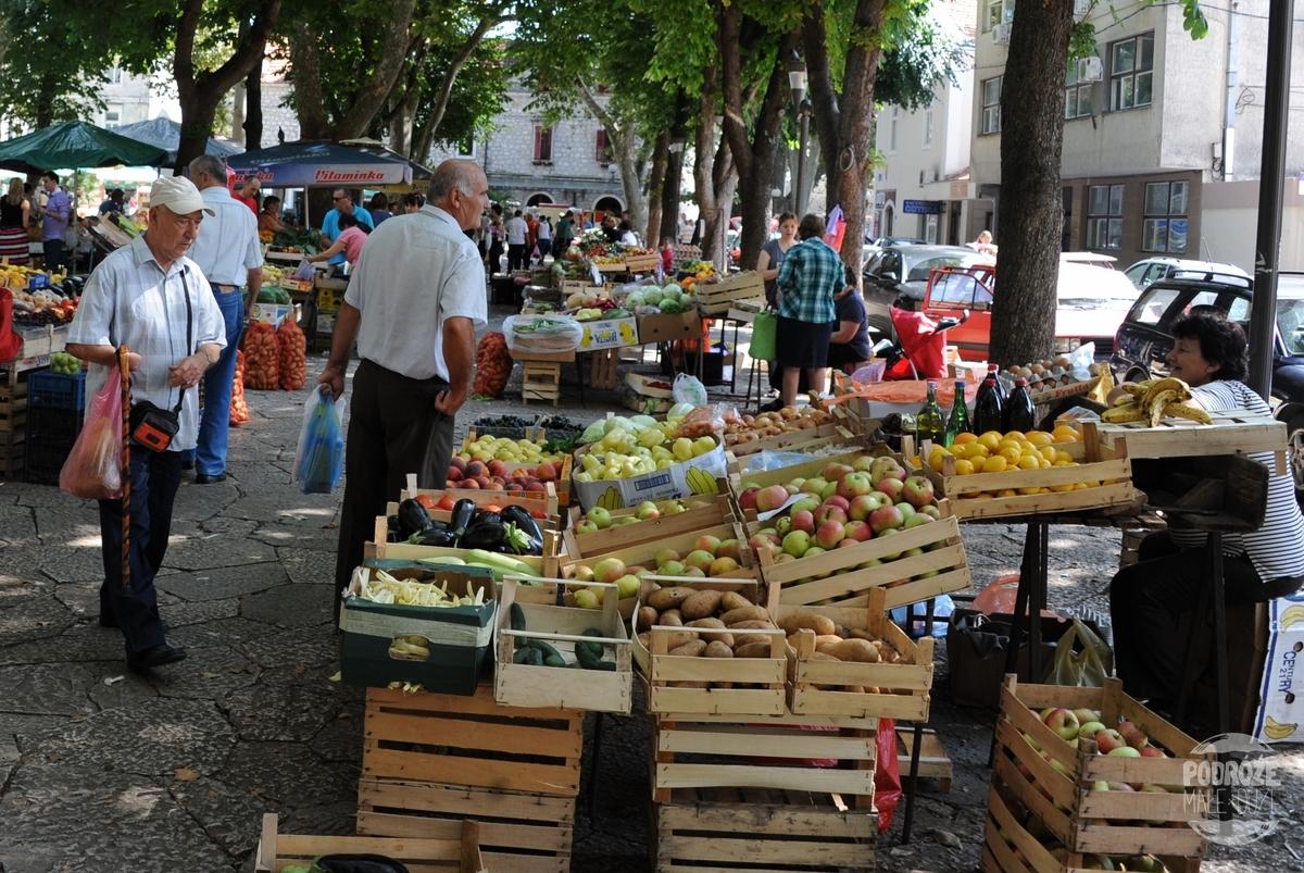 Bośnia i Hercegowina Trebinje targ