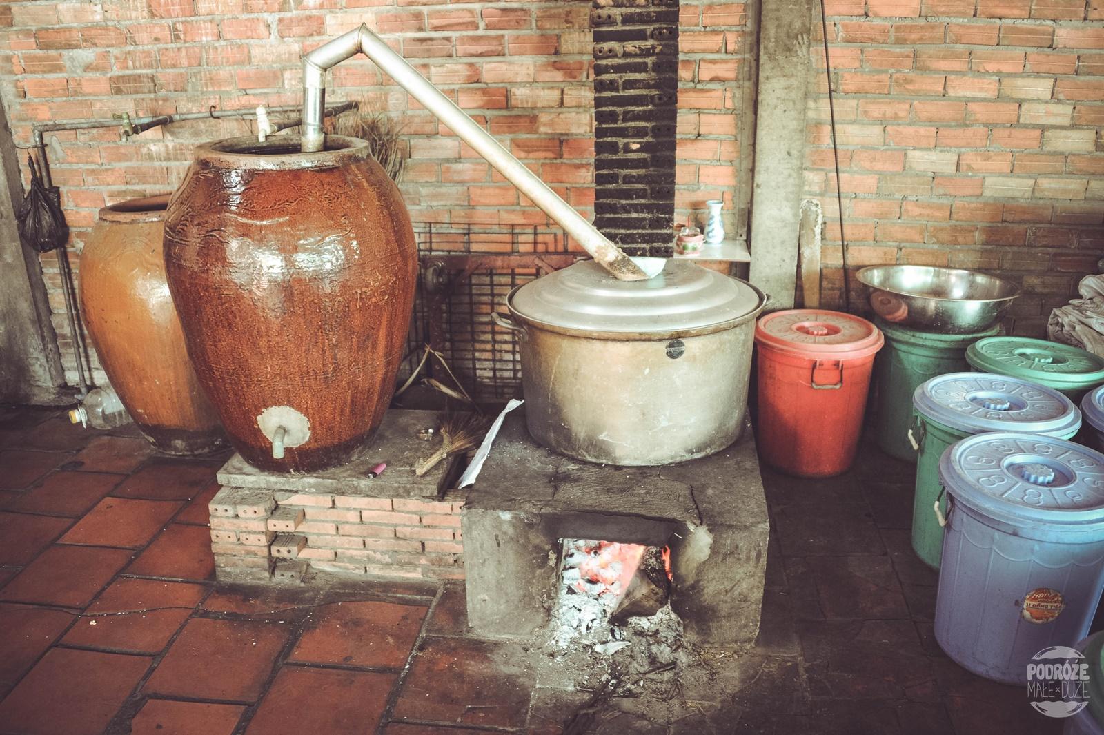 manufaktura słodyczy delta mekongu