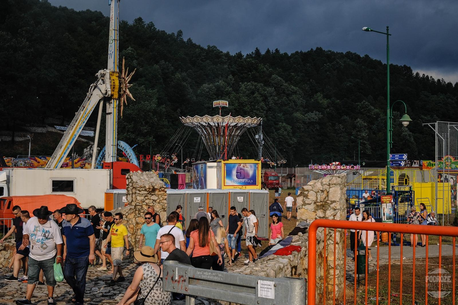Serbia festiwal trąb w Guca