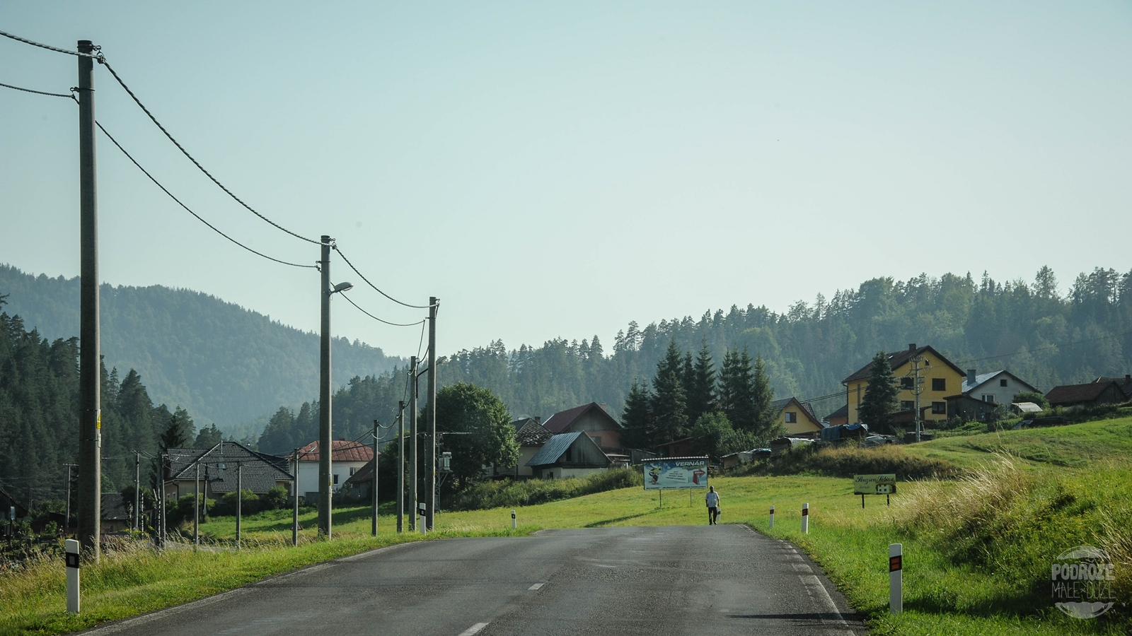 romska wieś Słowacja