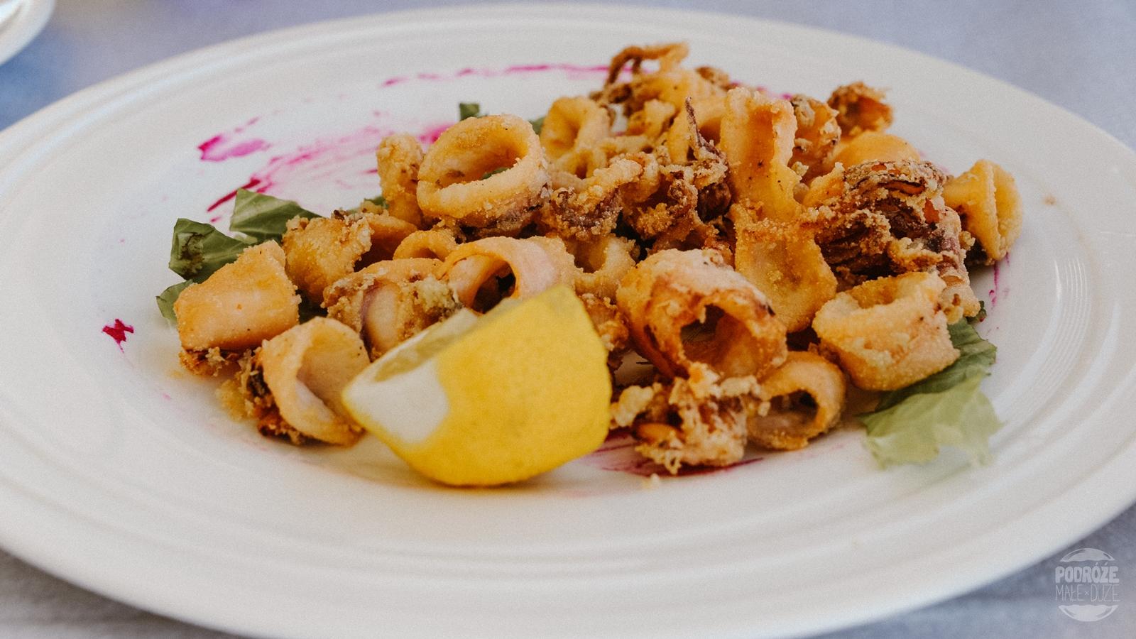 jedzenie Albania Saranda