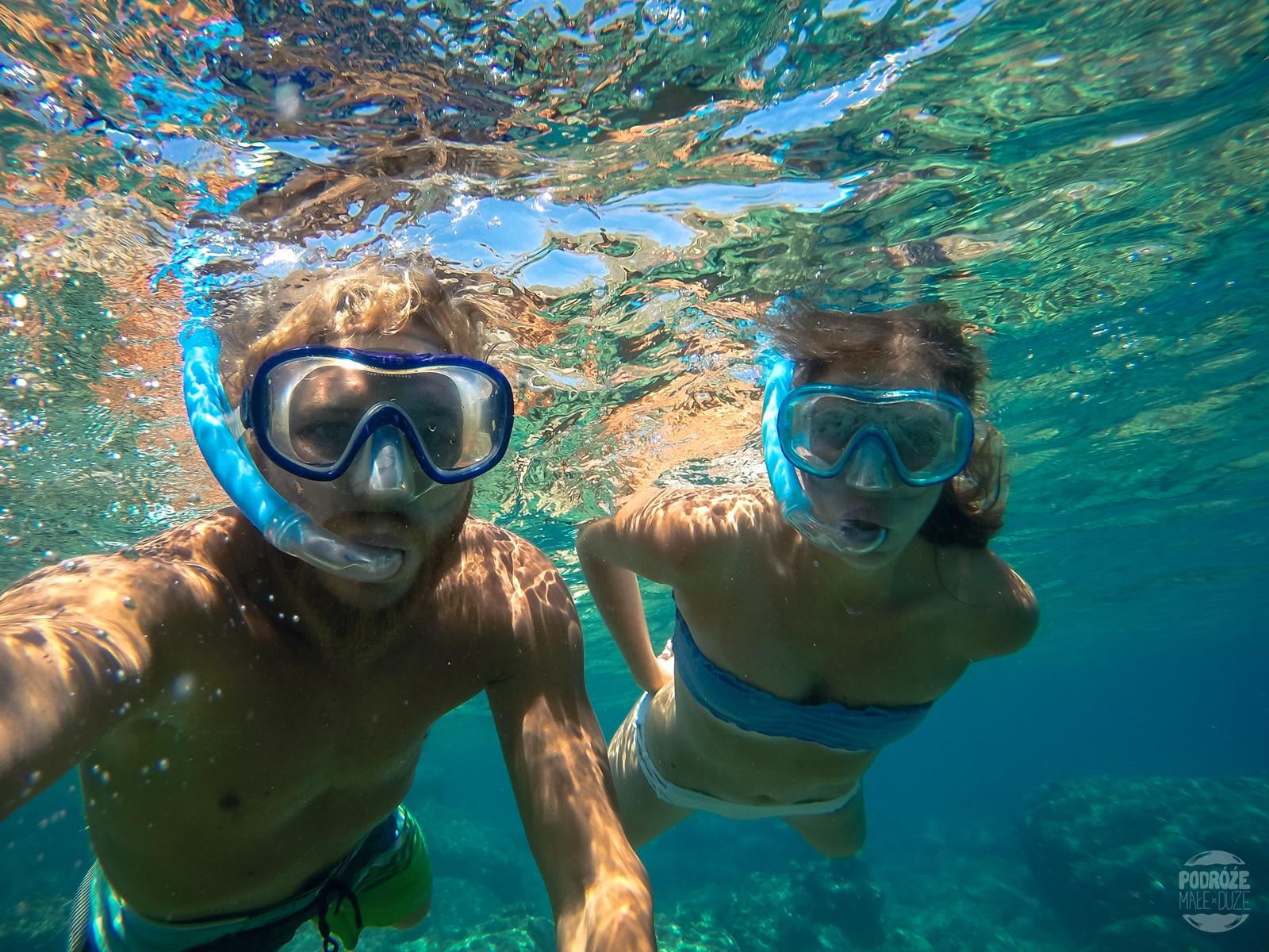 snorkeling na krecie