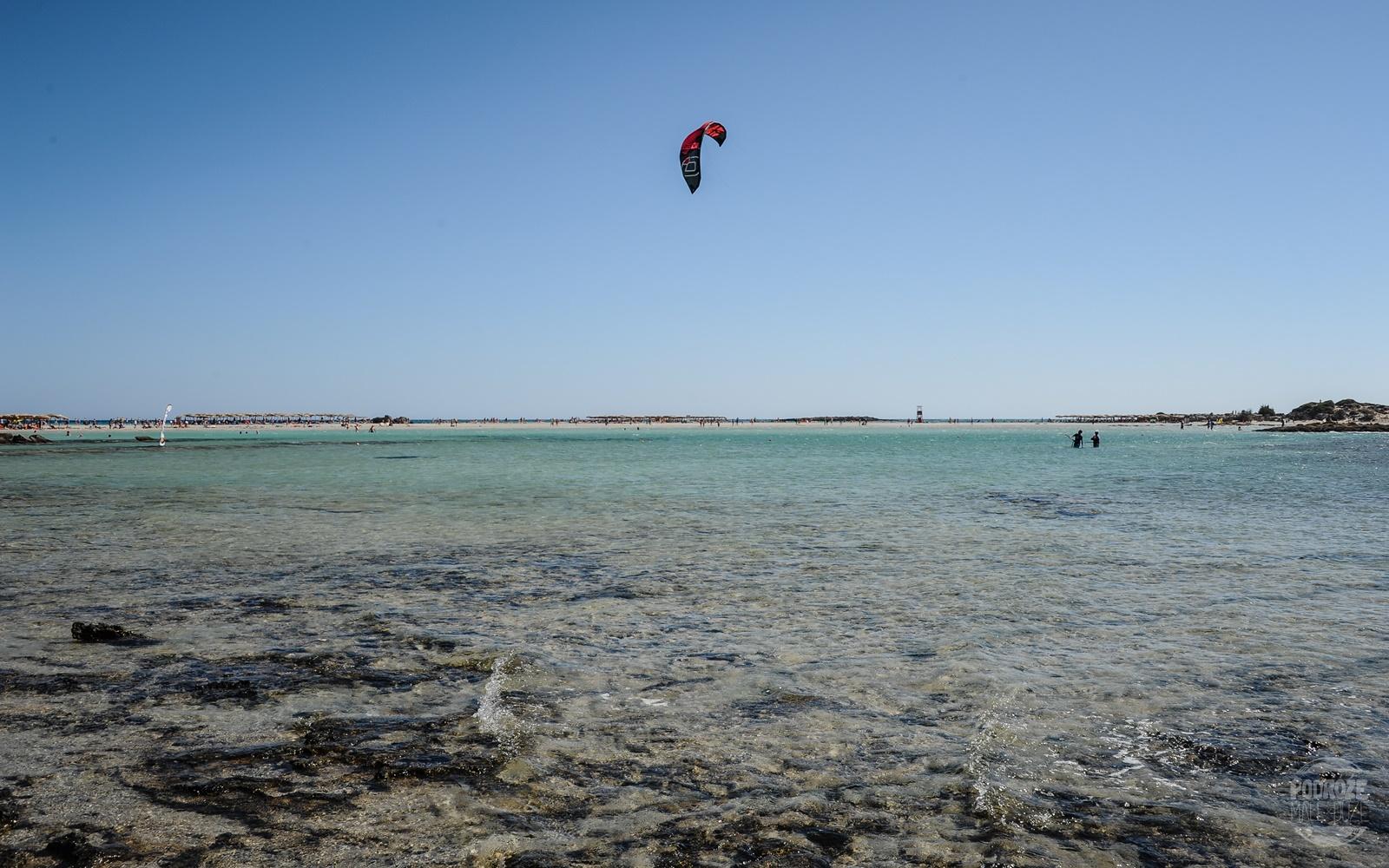 kiteboarding Elafonisi
