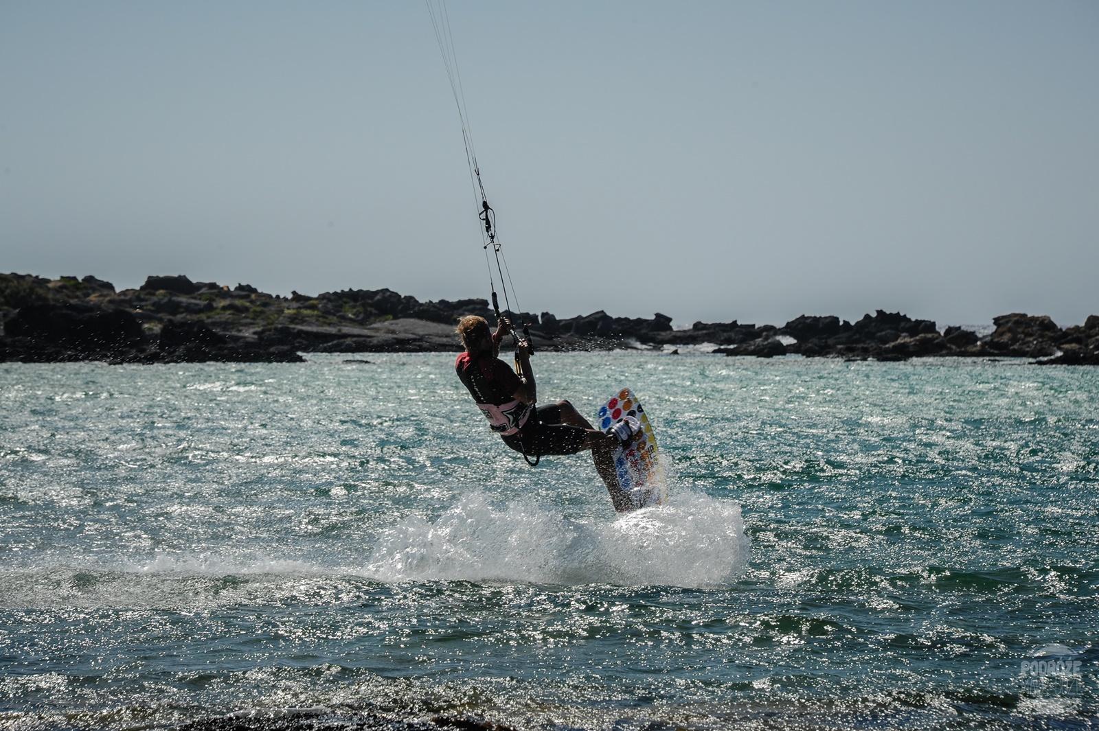 kitesurfing Elafonisi