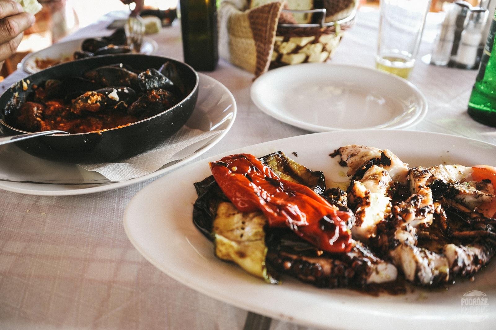 jedzenie Elafonisi
