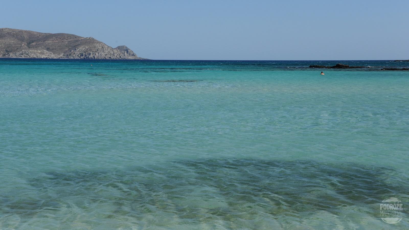 Elafonisi morze
