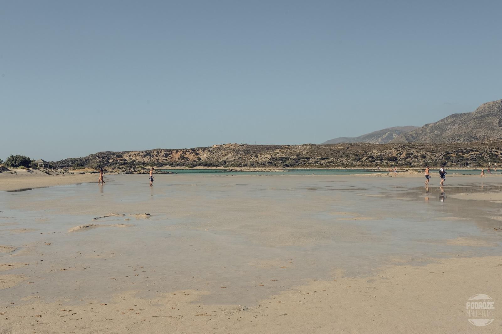 plaża na Elafonisi