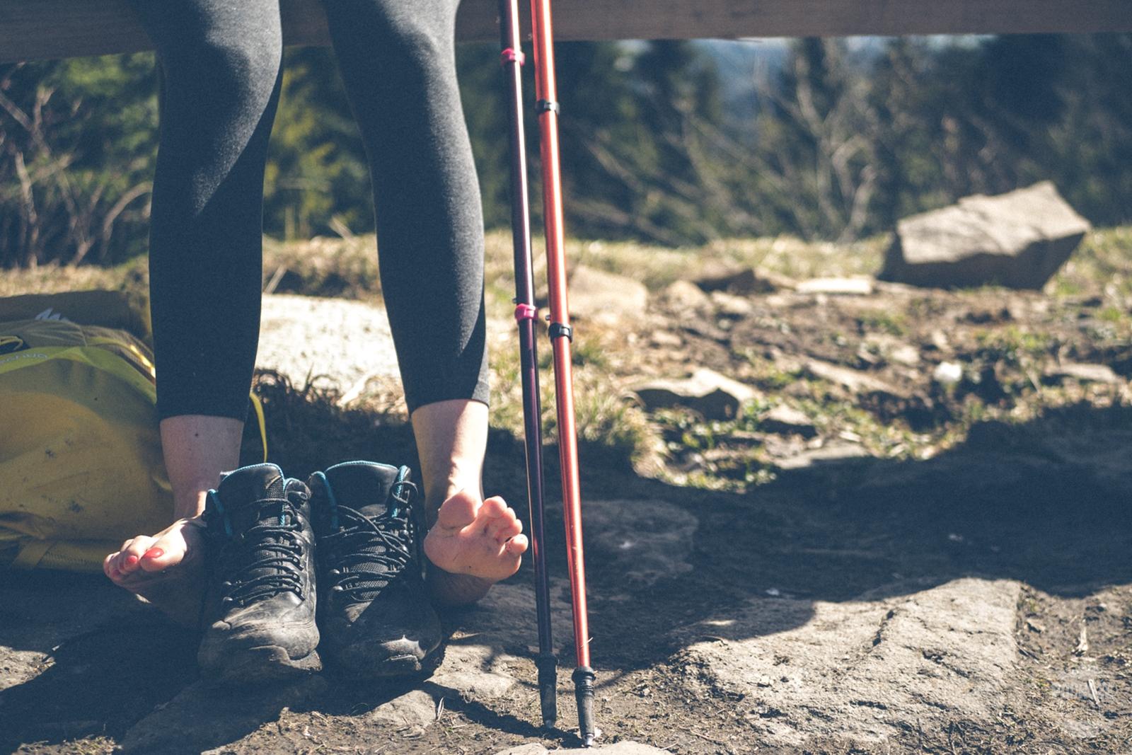 Schronisko PTTK Turbacz. Góry Gorce. Trekking