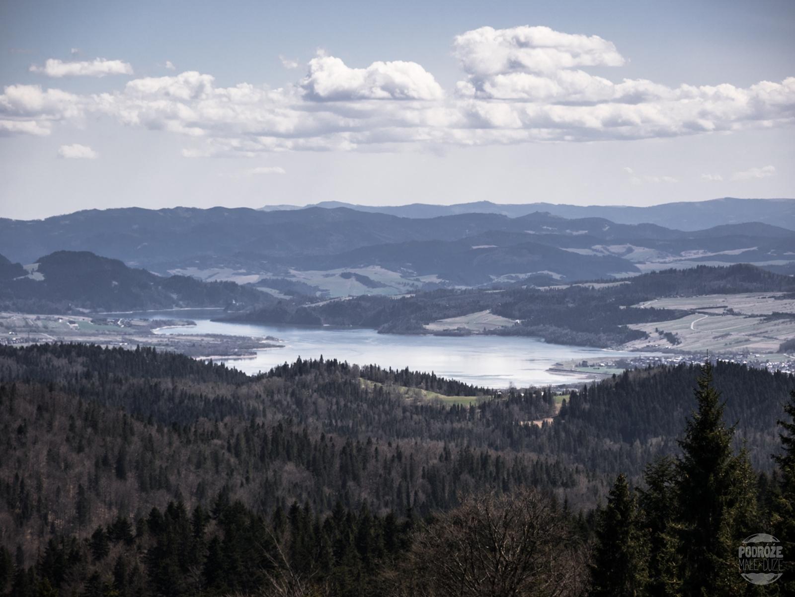 Łopuszna - Turbacz. Jezioro Czorsztyńskie