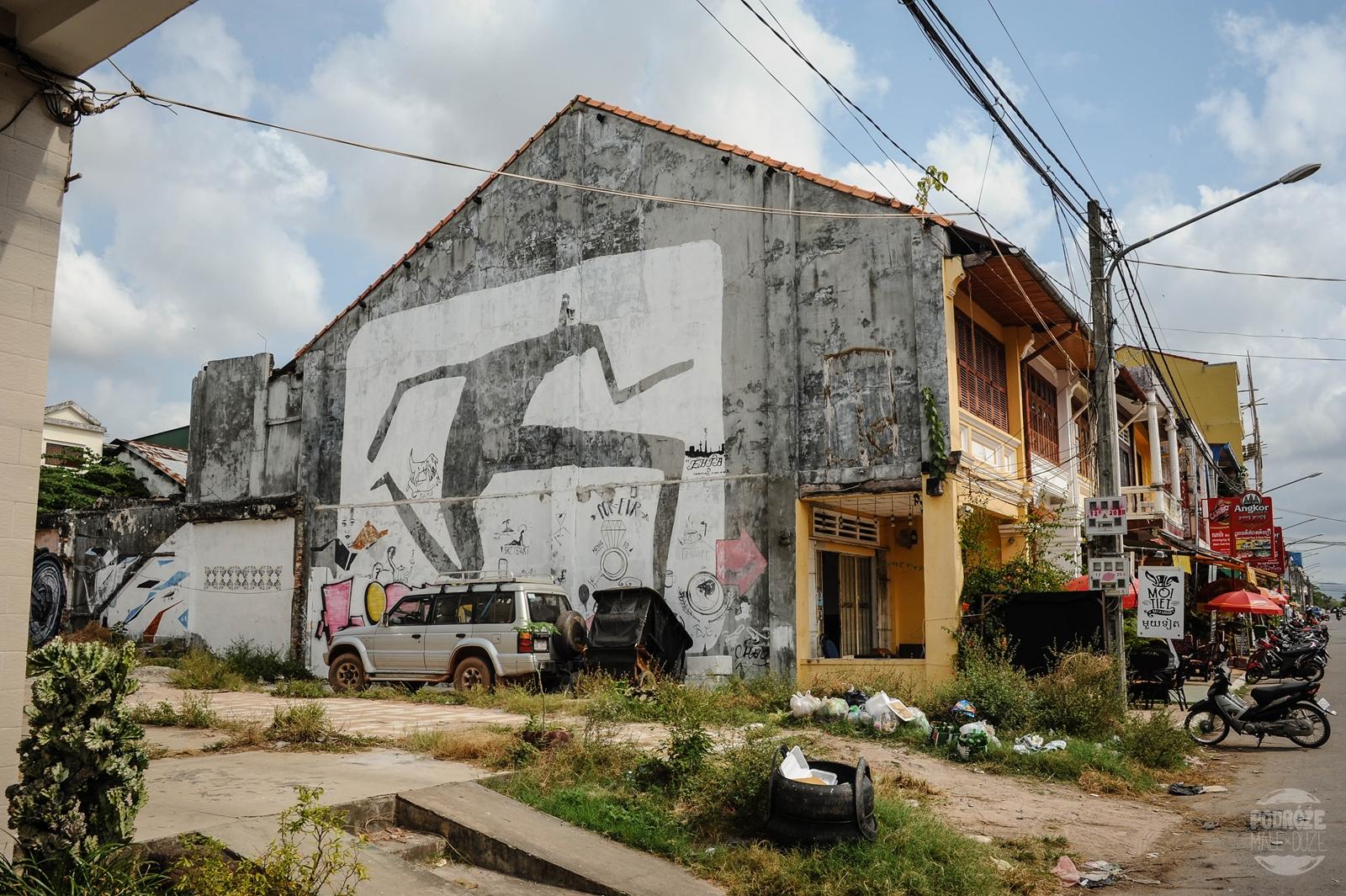 Kambodża Kampot przedmiescia