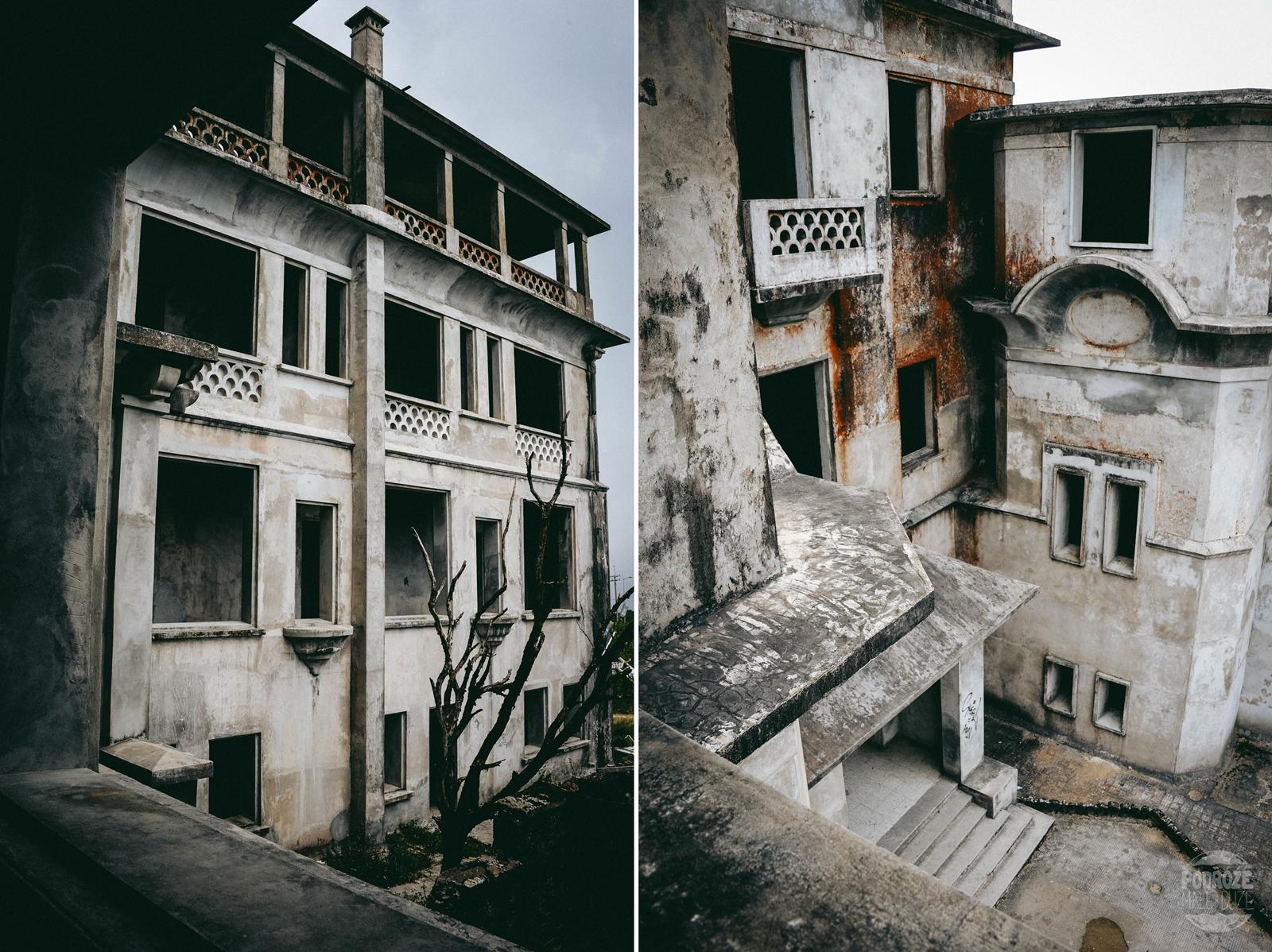 kambodza kampot bokor opuszczony hotel