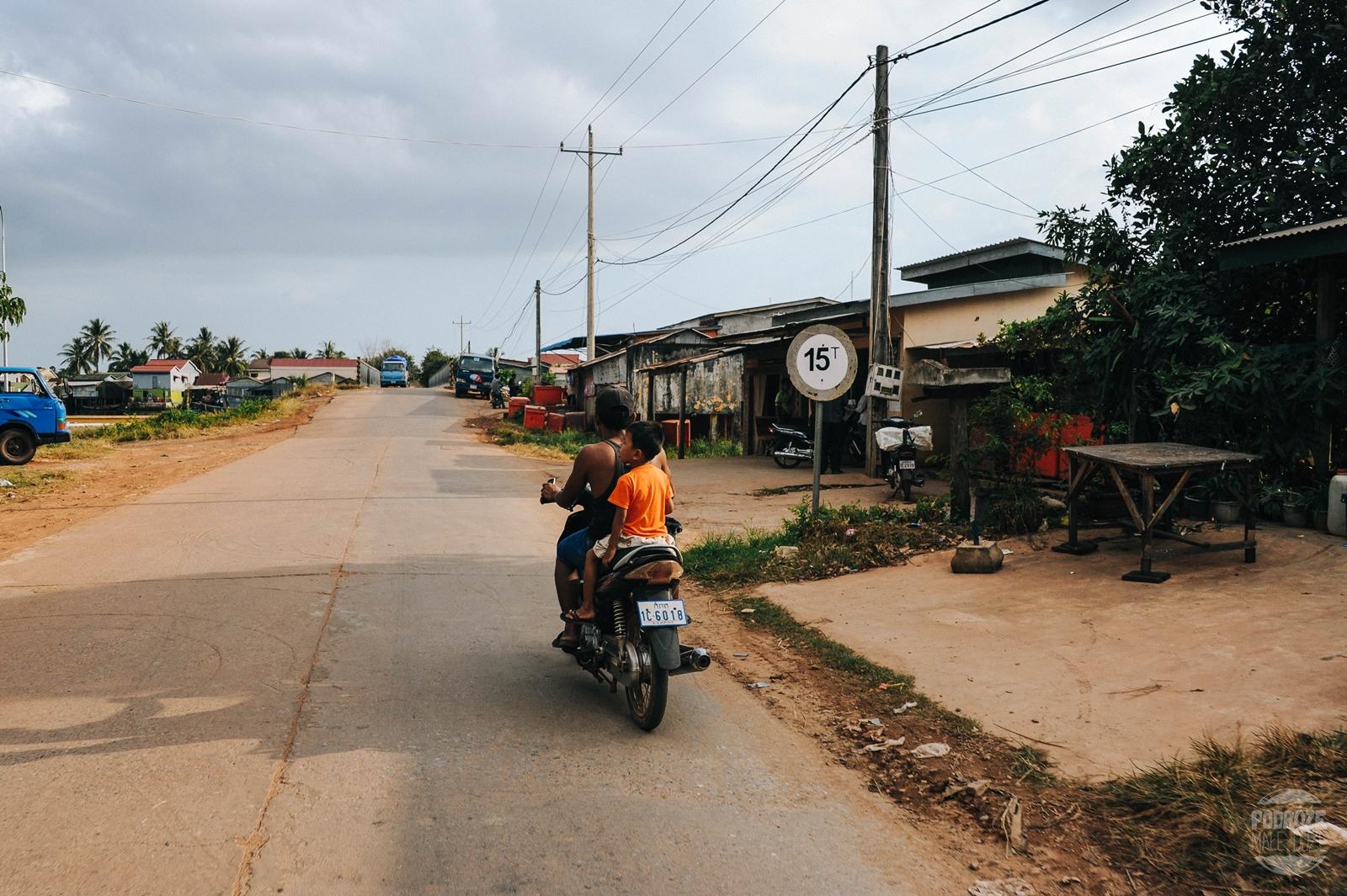 kambodza wies dzieci