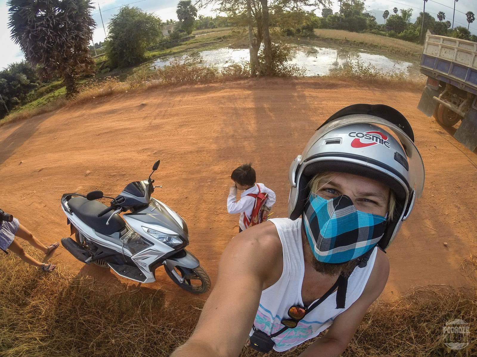 kambodza wies kampot