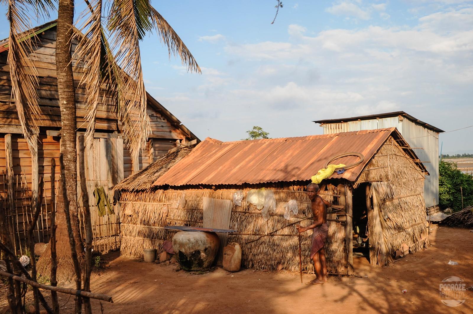 kambodza wies kampot dom