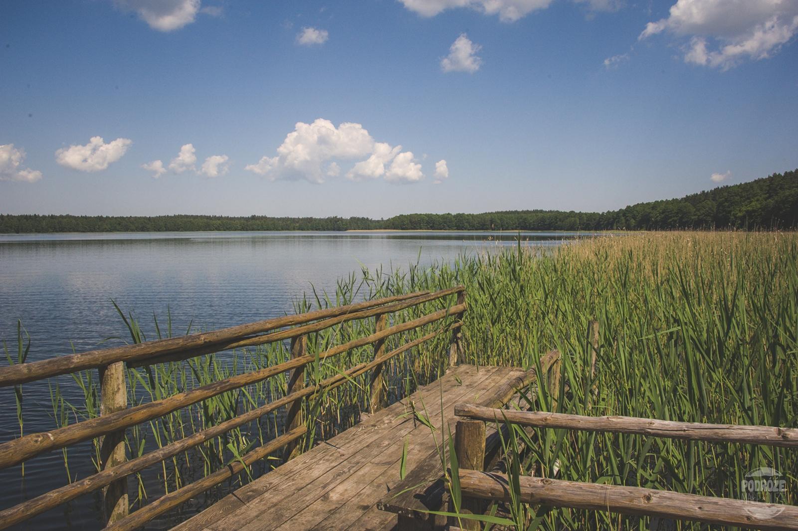 Warmia i Mazury jezioro Serwent