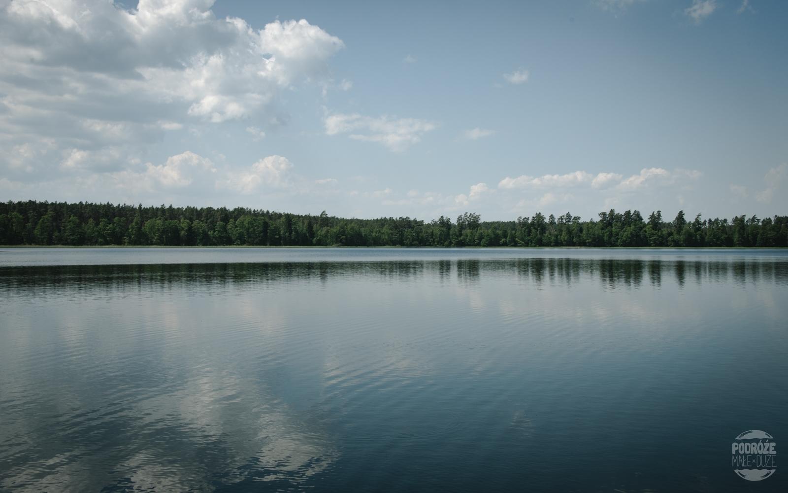 Warmia i Mazury jezioro Serwent natura