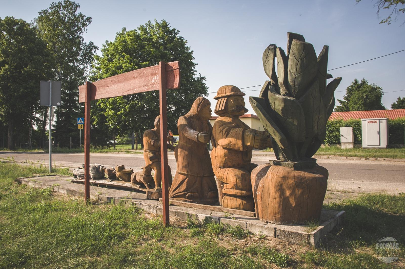 Warmia i Mazury dreniane rzeźby