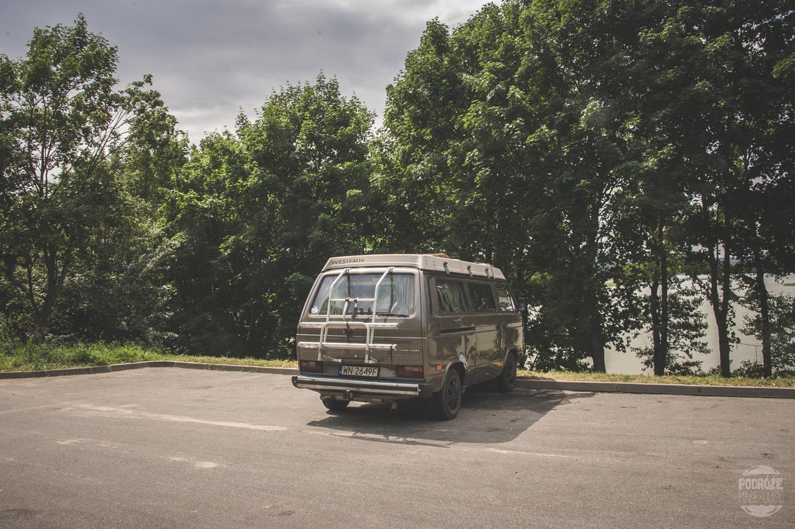 Warmia i Mazury road trip vanlife vwt3