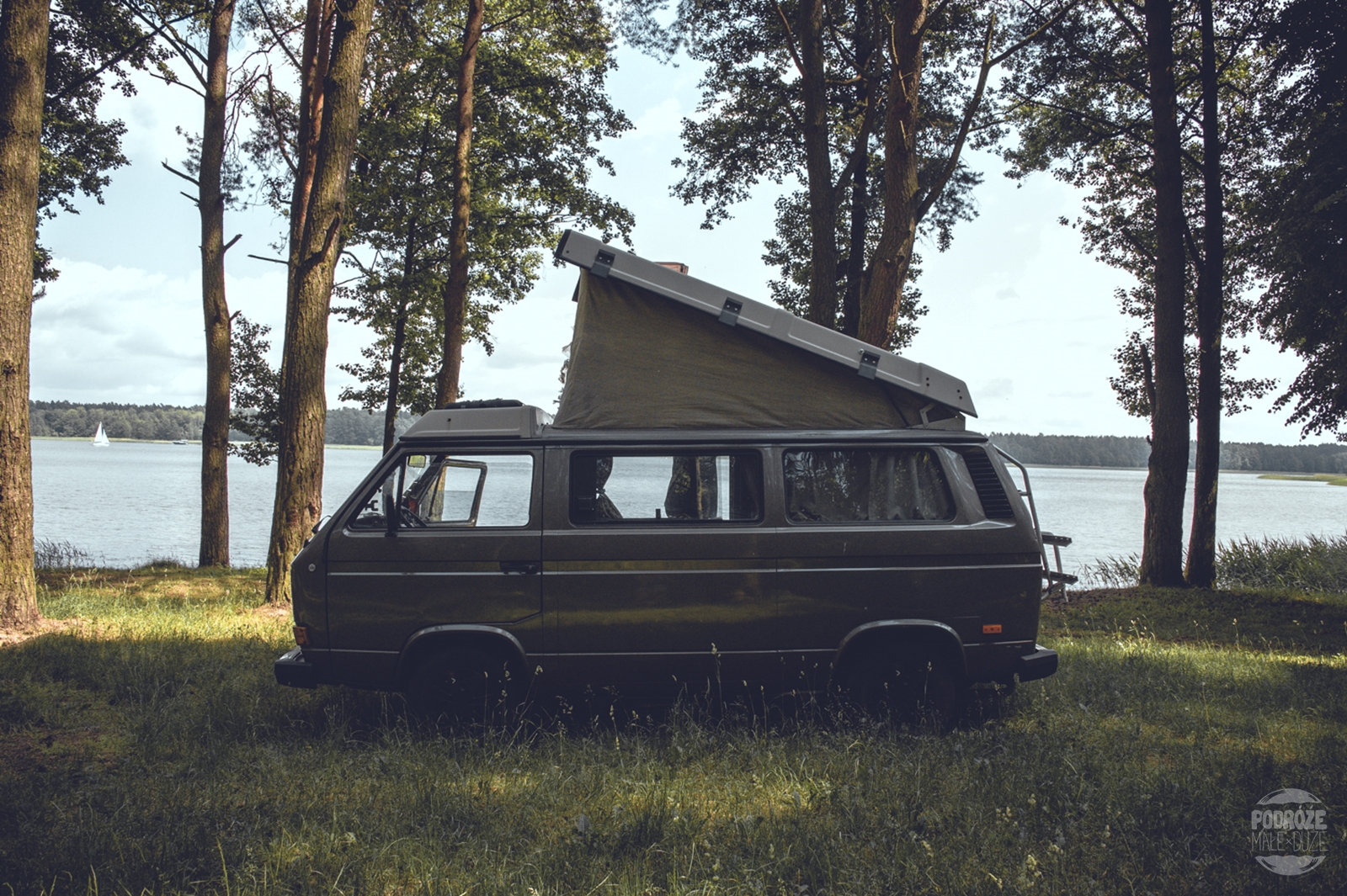 Warmia i Mazury road trip vanlife vanagon