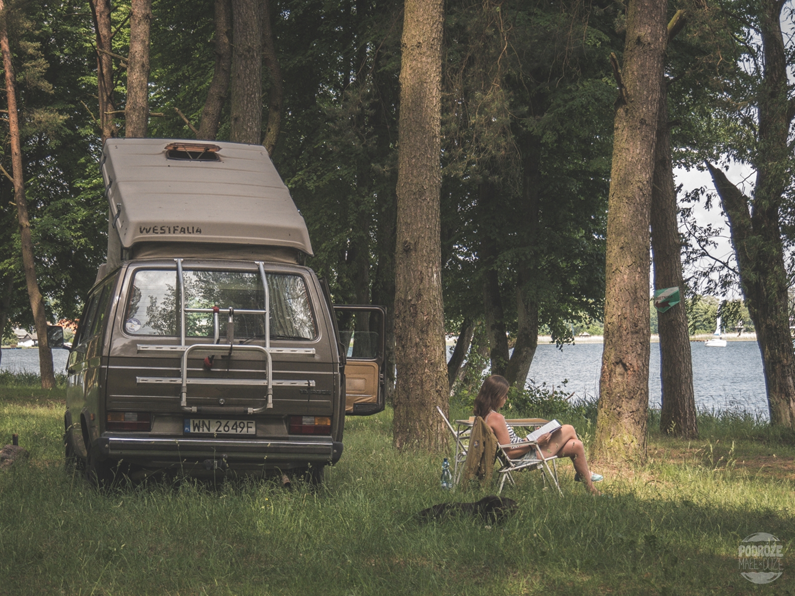 Warmia i Mazury road trip vanlife vanagon vwt3 vanlifers