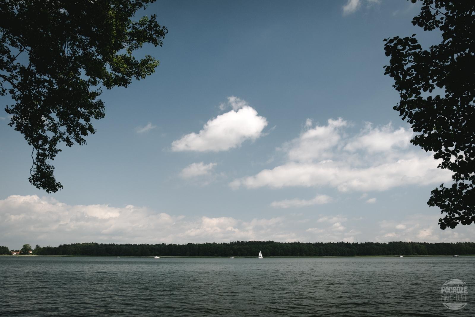 Warmia i Mazury jezioro boczne